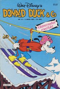 Cover Thumbnail for Donald Duck & Co (Hjemmet / Egmont, 1948 series) #10/1985