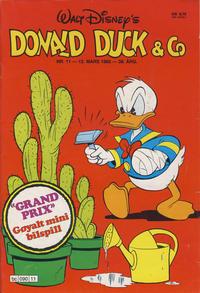 Cover Thumbnail for Donald Duck & Co (Hjemmet / Egmont, 1948 series) #11/1985