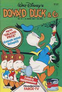 Cover Thumbnail for Donald Duck & Co (Hjemmet / Egmont, 1948 series) #12/1985