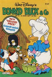 Cover Thumbnail for Donald Duck & Co (Hjemmet / Egmont, 1948 series) #13/1985