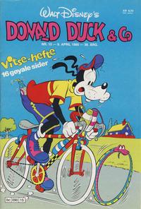 Cover Thumbnail for Donald Duck & Co (Hjemmet / Egmont, 1948 series) #15/1985