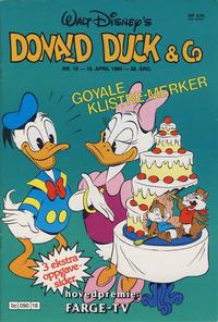 Cover Thumbnail for Donald Duck & Co (Hjemmet / Egmont, 1948 series) #16/1985