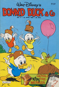 Cover Thumbnail for Donald Duck & Co (Hjemmet / Egmont, 1948 series) #17/1985
