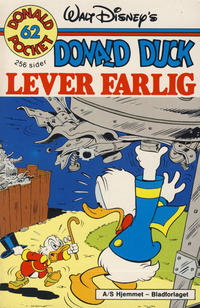 Cover Thumbnail for Donald Pocket (Hjemmet / Egmont, 1968 series) #62 - Donald Duck lever farlig [1. opplag]