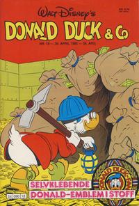 Cover Thumbnail for Donald Duck & Co (Hjemmet / Egmont, 1948 series) #18/1985