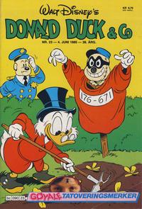 Cover Thumbnail for Donald Duck & Co (Hjemmet / Egmont, 1948 series) #23/1985