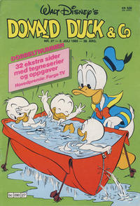 Cover Thumbnail for Donald Duck & Co (Hjemmet / Egmont, 1948 series) #27/1985