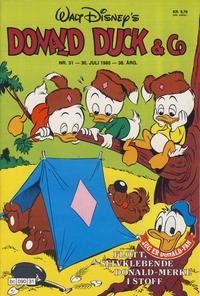 Cover Thumbnail for Donald Duck & Co (Hjemmet / Egmont, 1948 series) #31/1985