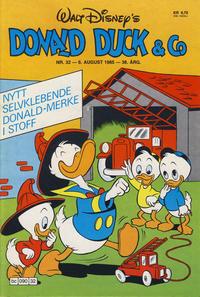 Cover Thumbnail for Donald Duck & Co (Hjemmet / Egmont, 1948 series) #32/1985