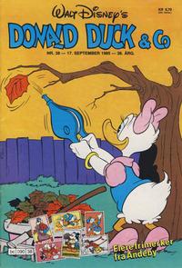 Cover Thumbnail for Donald Duck & Co (Hjemmet / Egmont, 1948 series) #38/1985