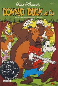 Cover Thumbnail for Donald Duck & Co (Hjemmet / Egmont, 1948 series) #39/1985