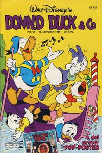 Cover Thumbnail for Donald Duck & Co (Hjemmet / Egmont, 1948 series) #42/1985