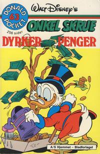 Cover Thumbnail for Donald Pocket (Hjemmet / Egmont, 1968 series) #63 - Onkel Skrue dyrker penger [1. opplag]