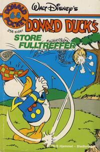 Cover Thumbnail for Donald Pocket (Hjemmet / Egmont, 1968 series) #64 - Donald Duck's store fulltreffer [1. opplag]