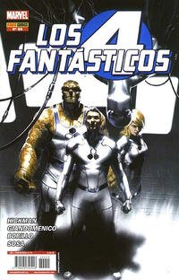 Cover Thumbnail for Los 4 Fantásticos (Panini España, 2008 series) #55