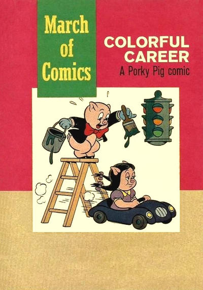 Cover for Boys' and Girls' March of Comics (Western, 1946 series) #218
