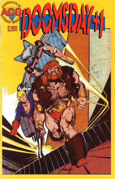 Cover for Doomsday + 1 (Avalon Communications, 1998 series) #7