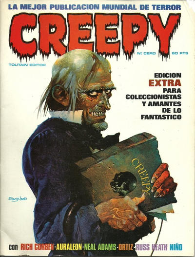 Cover for Creepy (Toutain Editor, 1979 series) #0