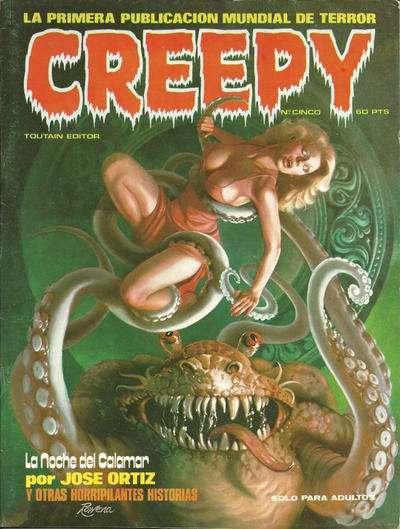 Cover for Creepy (Toutain Editor, 1979 series) #5