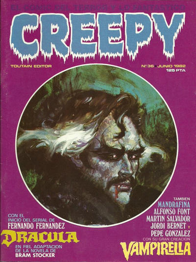 Cover for Creepy (Toutain Editor, 1979 series) #36