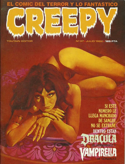 Cover for Creepy (Toutain Editor, 1979 series) #37