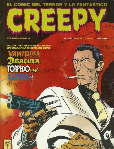 Cover for Creepy (Toutain Editor, 1979 series) #38