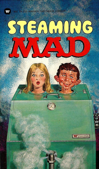 Cover for Steaming Mad (Warner Books, 1975 series) #75-734