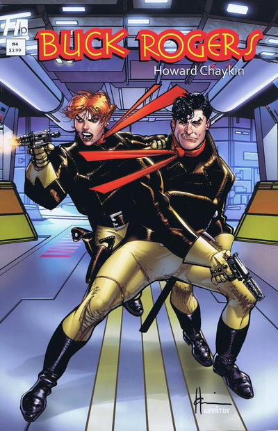 Cover for Buck Rogers in the 25th Century (Hermes Press, 2013 series) #4