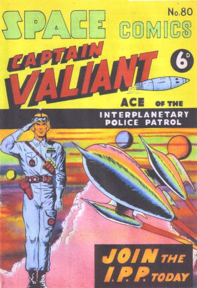 Cover for Space Comics (Arnold Book Company, 1953 series) #80