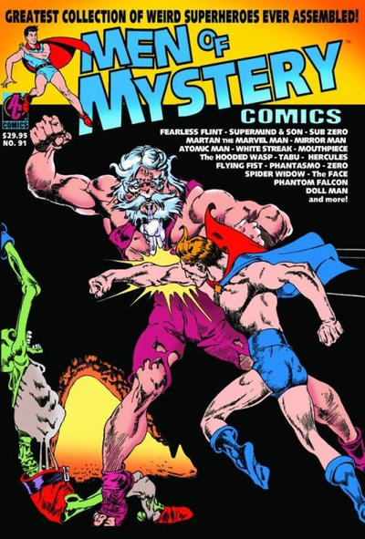 Cover for Men of Mystery Comics (AC, 1999 series) #91