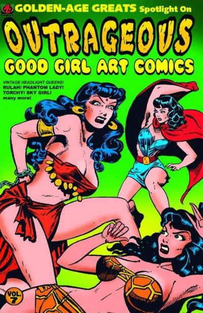 Cover for Golden-Age Greats Spotlight (AC, 2003 series) #8 (7)