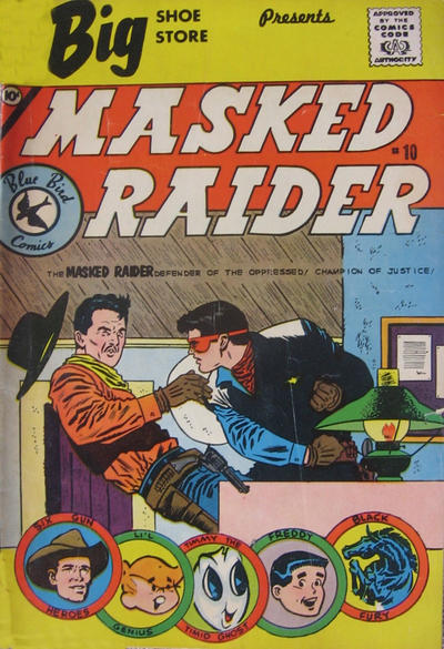 Cover for Masked Raider (Charlton, 1959 series) #10 [Schiff's Shoes]