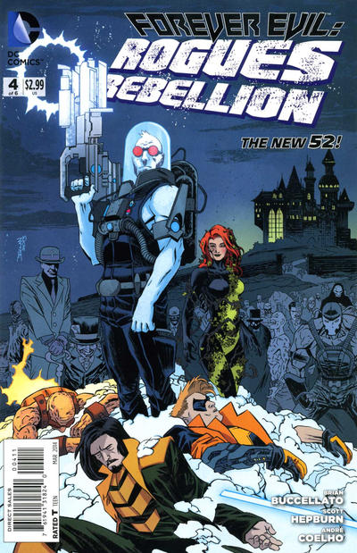 Cover for Forever Evil: Rogues Rebellion (DC, 2013 series) #4