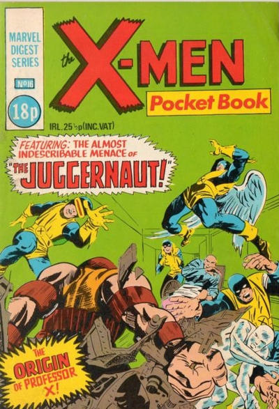 Cover for X-Men Pocketbook (Marvel UK, 1981 series) #16