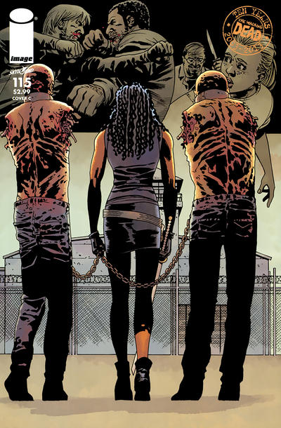 Cover for The Walking Dead (Image, 2003 series) #115 [Cover M]