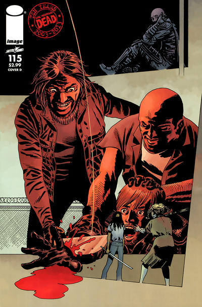 Cover for The Walking Dead (Image, 2003 series) #115 [Cover K]