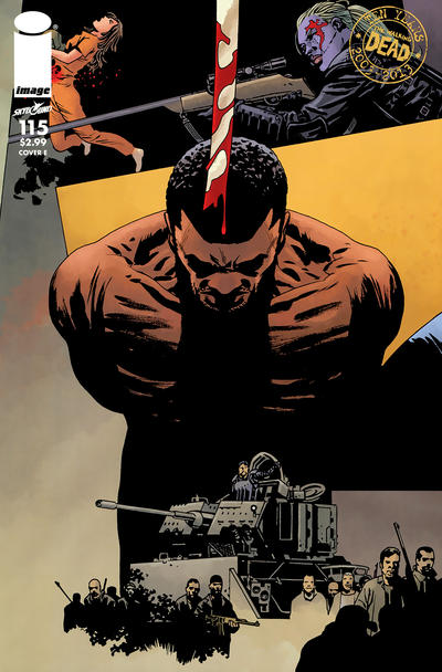 Cover for The Walking Dead (Image, 2003 series) #115 [Cover G]