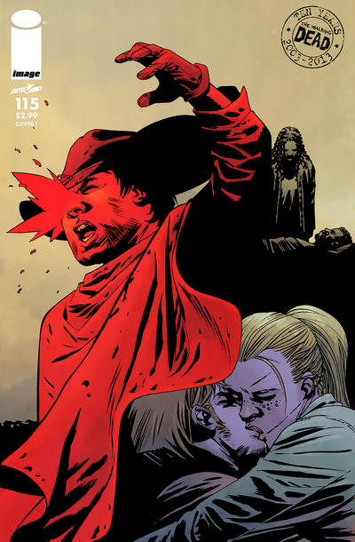 Cover for The Walking Dead (Image, 2003 series) #115 [Cover L]