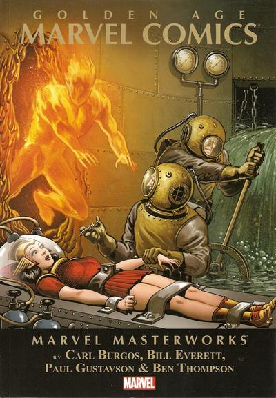 Cover for Marvel Masterworks: Golden Age Marvel Comics (Marvel, 2012 series) #2