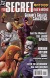 Cover for Batman Villains Secret Files (DC, 1998 series) #1