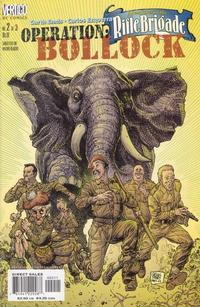 Cover Thumbnail for Adventures in the Rifle Brigade: Operation Bollock (DC, 2001 series) #2