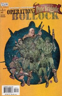 Cover Thumbnail for Adventures in the Rifle Brigade: Operation Bollock (DC, 2001 series) #3