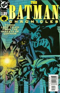 Cover Thumbnail for The Batman Chronicles (DC, 1995 series) #23