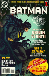 Cover Thumbnail for Batman Secret Files (DC, 1997 series) #1 [Direct Sales]