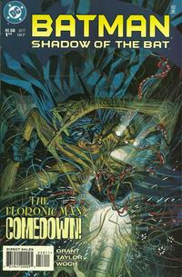 Cover Thumbnail for Batman: Shadow of the Bat (DC, 1992 series) #58