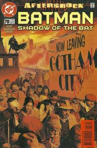 Cover Thumbnail for Batman: Shadow of the Bat (DC, 1992 series) #78