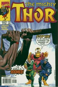 Cover Thumbnail for Thor (Marvel, 1998 series) #15