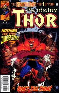 Cover Thumbnail for Thor (Marvel, 1998 series) #17