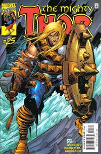Cover Thumbnail for Thor (Marvel, 1998 series) #25 [Direct Regular Edition]