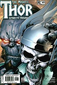 Cover Thumbnail for Thor (Marvel, 1998 series) #49 (551)